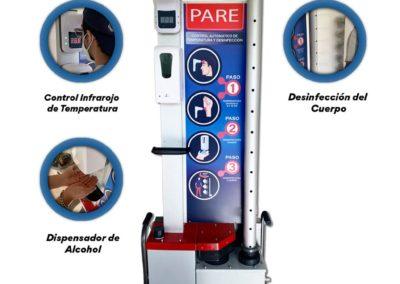 Maquina de Desinfección